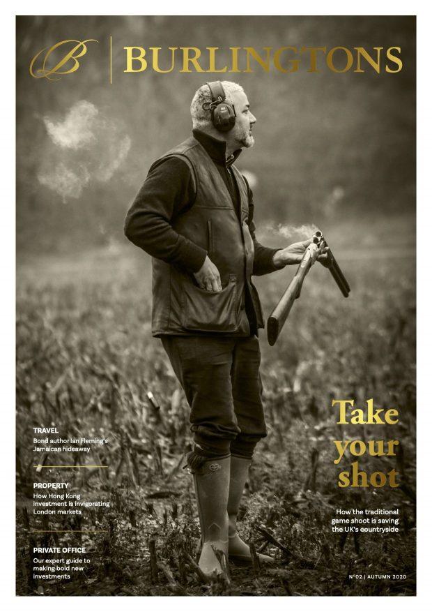 Burlingtons magazine issue 2 cover